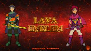 Lava Emblem by AnutDraws
