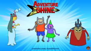 Adventure Shine by AnutDraws