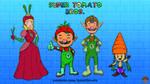 Super Tomato Bros. by AnutDraws