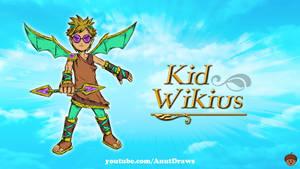 Kid Wikius by AnutDraws