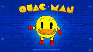 Quac-Man by AnutDraws