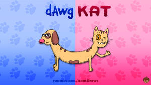 DawgKat by AnutDraws