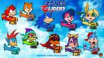 Zonec Gliders by AnutDraws