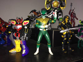 Power Rangers Toy Collection 032: Green Ranger by AnutDraws
