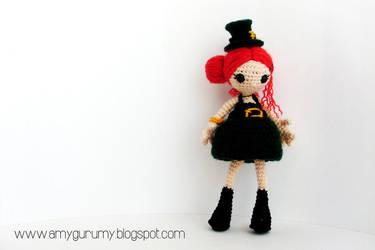 Alanna the Irish girl by Amygurumy
