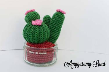 Cactus - Tiny Garden by Amygurumy