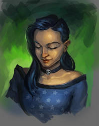 Morticia Redraw by Charmrock