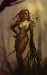 Wicked Dryad by Charmrock