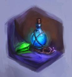 Magic Bottles by Charmrock