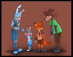 Five Nights at Zootopia #1 by Derpsonhooves