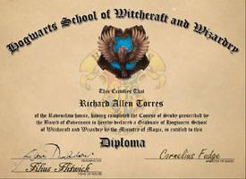 Hogwarts Diploma by ratorr2