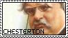 G.K. Chesterton Stamp by NotSoFluent