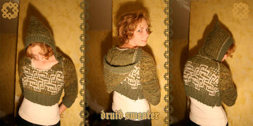 Druid Sweater by papilia