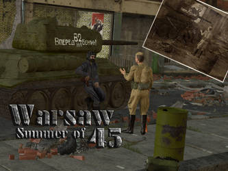 Warsaw: the Summer of 45 by Joel-Bisaillon
