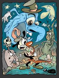 Halloween in Cartoonland by HammersonHoek