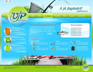 fishing brand site by liway