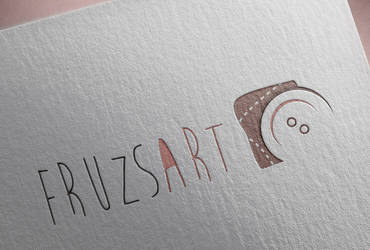 FruzsArt handmade products logo by liway