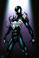 Spider-man Back In Black by Likodemus