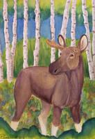 Alaskan Unicorn by Snarkyandbarky