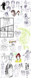 Sketch Dump Uno by kinno-nabi
