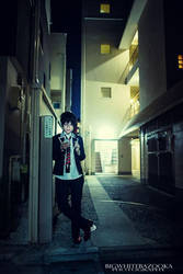 Ao No Exorcist: night stroll by Akusesu