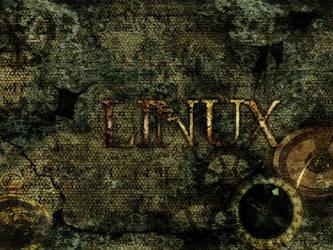 Steampunk Linux by Pariah73
