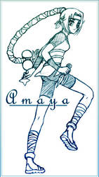 Amaya of the Cloud by astaldoia