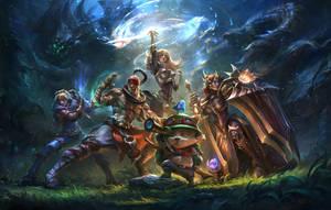 Team builder art by su-ke