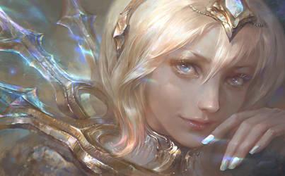 Elementalist Lux Promo Art- Light form by su-ke