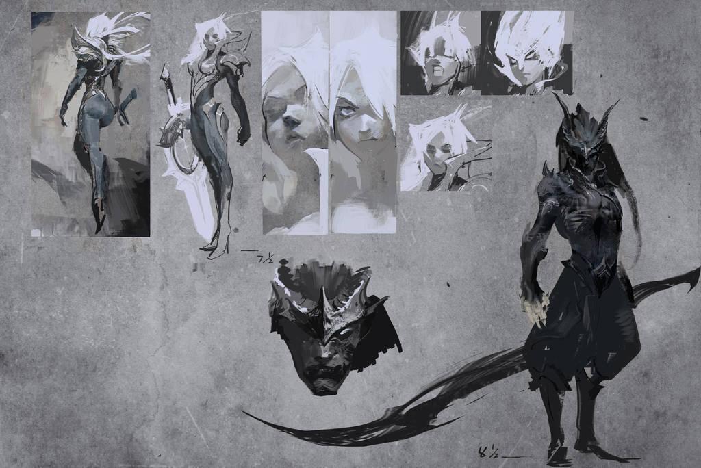 Legendary VS comic, concept art by su-ke