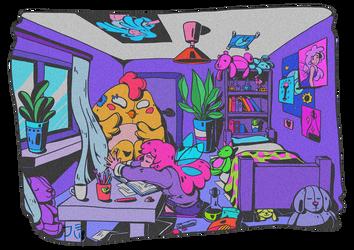 Room by VanileCream