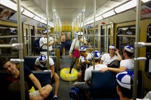 U-Bahn Party by batmantoo