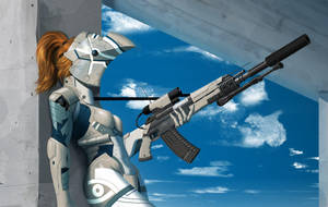 Cyborg girl Zero --- Recon upgrade by AlpYro
