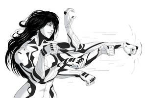 Cyborg girl10 by AlpYro
