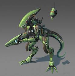 Cyborg Alien. by AlpYro