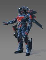 Cyborg guy 06 by AlpYro