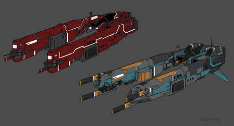 Spaceship by AlpYro
