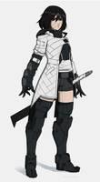Cyborg girl 29 - Astree by AlpYro