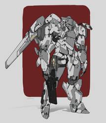 Cyborg guy 08 - Republic heavy armor by AlpYro