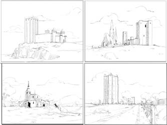 Enviro sketches by AlpYro