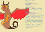 Fire Dragon Ref Sheet by JK-Draws