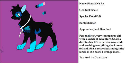 Sharna Reference Sheet by JK-Draws