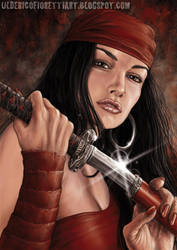 Elektra by Ulderix