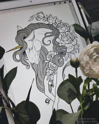Unicorn by quidames