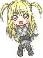 Death note: Chibi Misa by PoppyTears