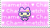 Chamametchi Love Stamp by tamagotchi