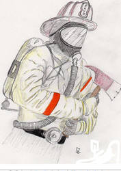 Firefighter by champain69