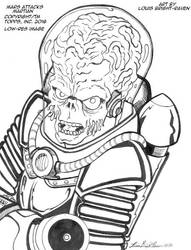 Mars Attacks Martian By Bright Raven (SOLD) by Bright-Raven