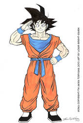 GOKU (DragonBall Z) July 2013-SOLD by Bright-Raven
