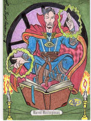 Commission AP Card Dr. Strange (SOLD) by Bright-Raven